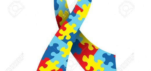 25488943-Una-illustrazione-vettoriale-di-un-Nastro-di-consapevolezza-autismo-realizzato-con-un-simbolico-puzz-Archivio-Fotografico