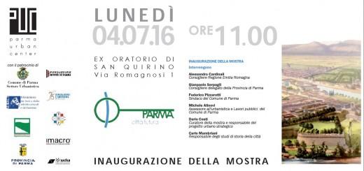 Inaugurazione mostra Parma città futura