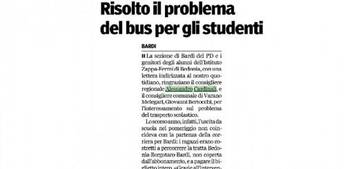 gazzetta di parma_14_09_16_risolto il problema del bus per gli studenti