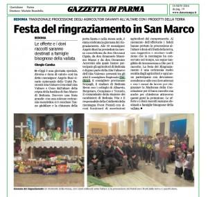 festa del ringraziamento in san marco_gazzetta di parma_14 novembre 2016