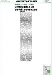 gemellaggio al via tra val taro e bolzano_gazzetta di parma__9 maggio 2017